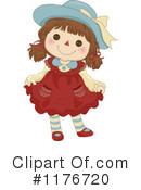 Royalty-Free (RF) doll Clipart Illustration #1176720