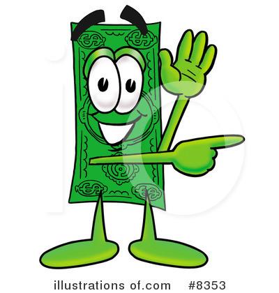 dollar bill clipart 8353 illustration by toons4biz rh illustrationsof com dollar bill clip art template dollar bill clip art free
