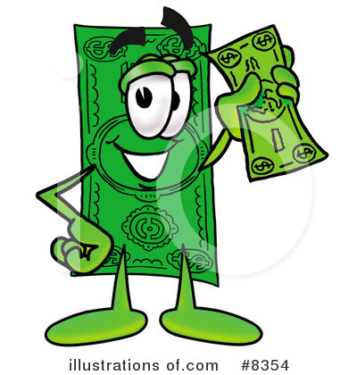dollar bill clipart 8354 illustration by toons4biz rh illustrationsof com clipart 1000 dollar bill clipart 1000 dollar bill