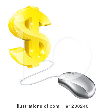 Mouse Clipart #1230246 by AtStockIllustration