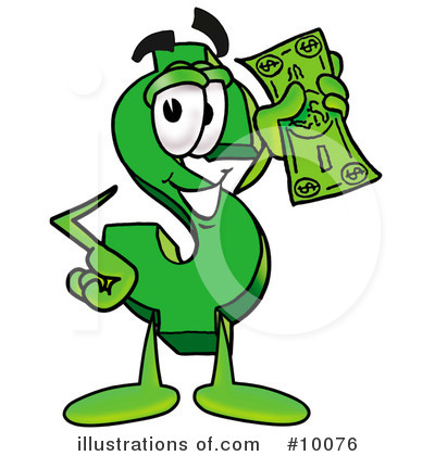 Dollar Sign Clipart #10076 by Toons4Biz | Royalty-Free (RF) Stock