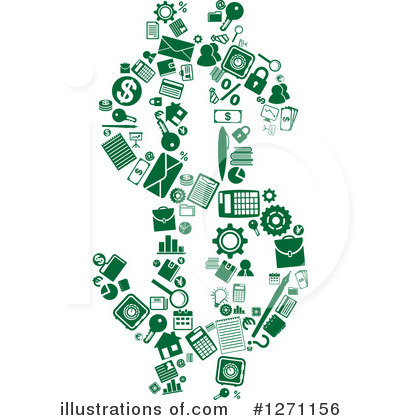 Money Clipart #1271156 by Vector Tradition SM