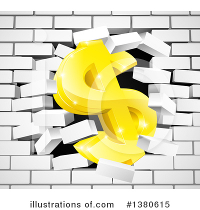 Dollar Symbol Clipart #1380615 by AtStockIllustration