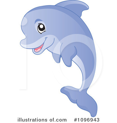 Dolphin Clipart #1096943 by visekart