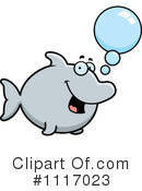 Dolphin Clipart #1117023 by Cory Thoman