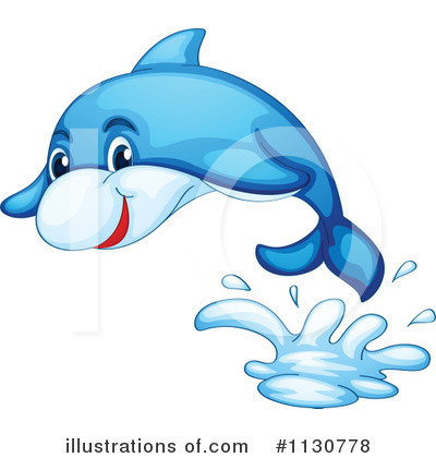 Dolphin Clipart #1130778 by Graphics RF