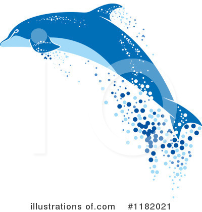 Dolphin Clipart #1182021 by Vector Tradition SM