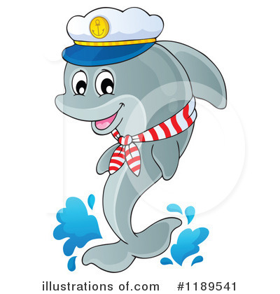 Dolphin Clipart #1189541 by visekart