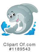 Dolphin Clipart #1189543 by visekart