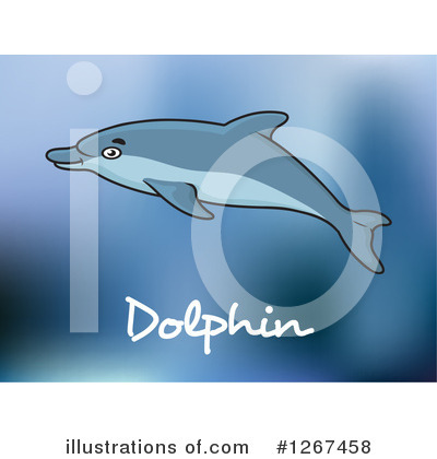 Dolphin Clipart #1267458 by Vector Tradition SM
