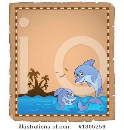 Dolphin Clipart #1305256 by visekart