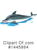 Dolphin Clipart #1445864 by Graphics RF