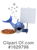 Dolphin Clipart #1629798 by Julos