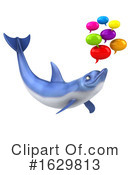 Dolphin Clipart #1629813 by Julos