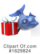 Dolphin Clipart #1629824 by Julos