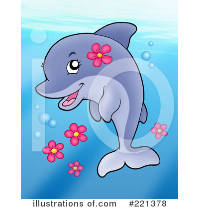 Dolphin Clipart #221378 by visekart