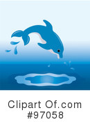 Dolphin Clipart #97058 by Pams Clipart