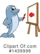 Royalty-Free (RF) Dolphin Mascot Clipart Illustration #1439996