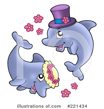 Dolphin Clipart #221434 by visekart
