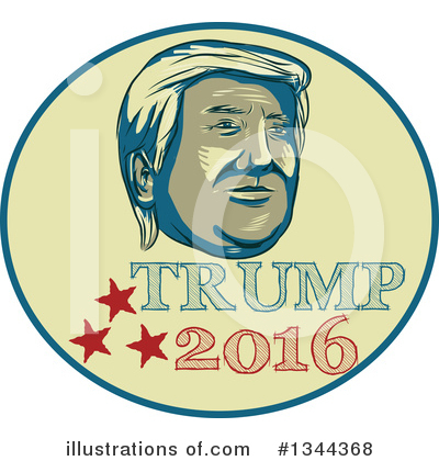 Republican Clipart #1344368 by patrimonio