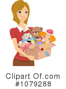 Royalty-Free (RF) donation Clipart Illustration #1079288