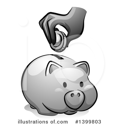 Donation Clipart #1399803 by BNP Design Studio