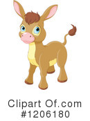 Donkey Clipart #1206180 by Pushkin