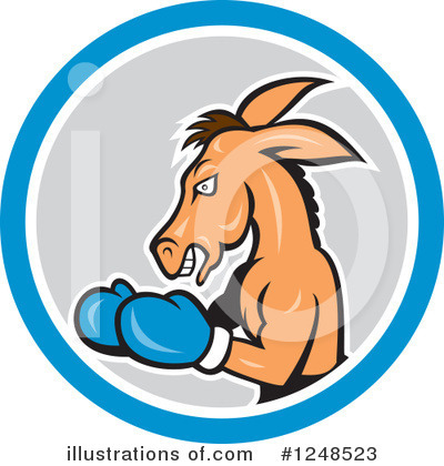 Democrat Clipart #1248523 by patrimonio