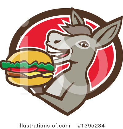 Burger Clipart #1395284 by patrimonio