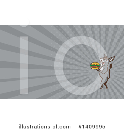 Burger Clipart #1409995 by patrimonio