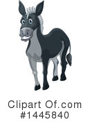 Donkey Clipart #1445840 by Graphics RF