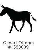Donkey Clipart #1533009 by AtStockIllustration