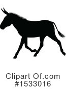 Donkey Clipart #1533016 by AtStockIllustration