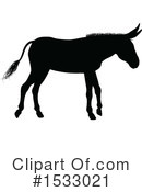 Donkey Clipart #1533021 by AtStockIllustration