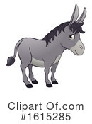 Donkey Clipart #1615285 by AtStockIllustration