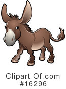 Donkey Clipart #16296 by AtStockIllustration
