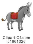 Donkey Clipart #1661326 by AtStockIllustration