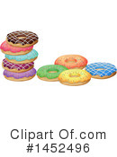 Royalty-Free (RF) Donut Clipart Illustration #1452496