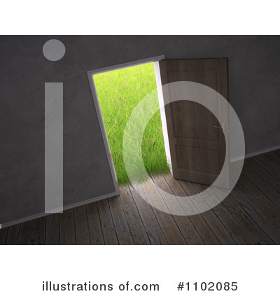 Door Clipart #1102085 by Mopic