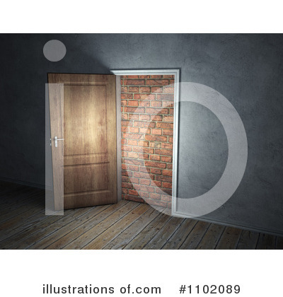 Door Clipart #1102089 by Mopic