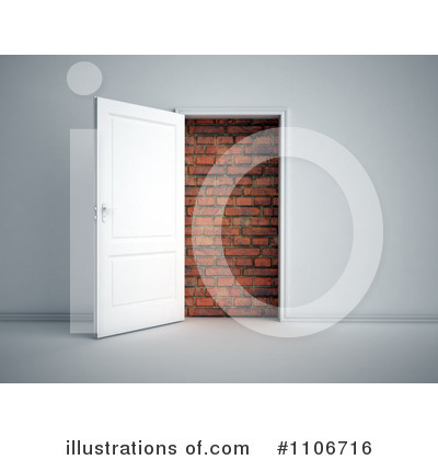 Door Clipart #1106716 by Mopic