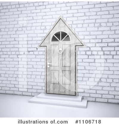 Door Clipart #1106718 by Mopic