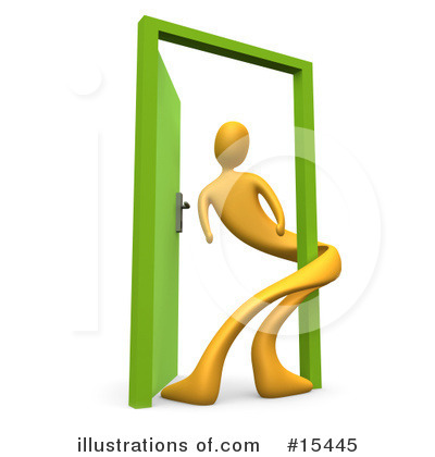 Door Clipart #15445 by 3poD
