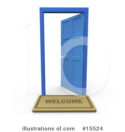 Door Clipart #15524 by 3poD