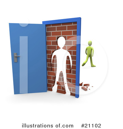 Door Clipart #21102 by 3poD