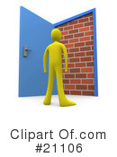 Door Clipart #21106 by 3poD