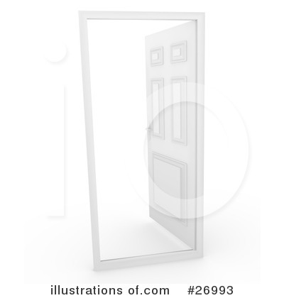 Doors Clipart #26993 by Leo Blanchette