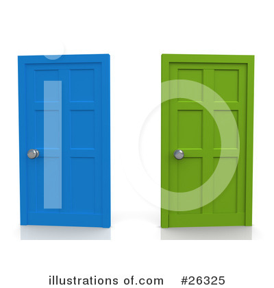 Door Clipart #26325 by 3poD