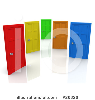Door Clipart #26326 by 3poD