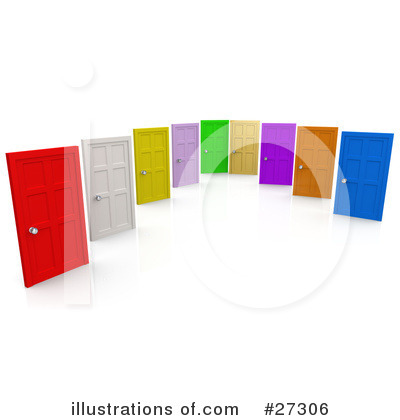 Door Clipart #27306 by 3poD